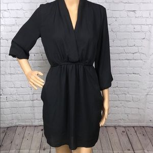 Bar III black tunic dress